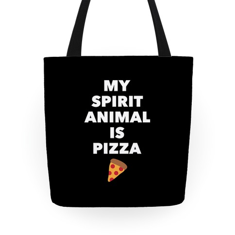 Pizza Spirit Animal Tote