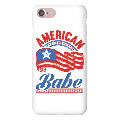 American Babe Phone Case