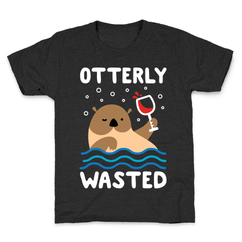 Otterly Wasted Kids T-Shirt