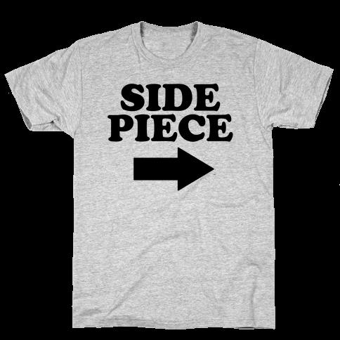 Side Piece 2 Mens T-Shirt