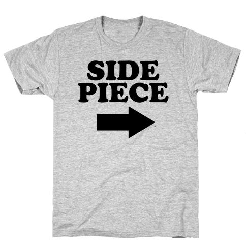 Side Piece 2 Mens T-Shirt