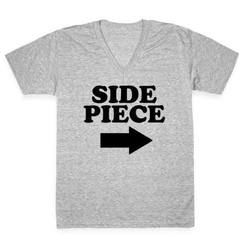 Side Piece 2 V-Neck Tee Shirt