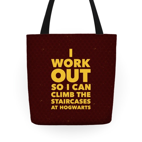 I Work Out Tote
