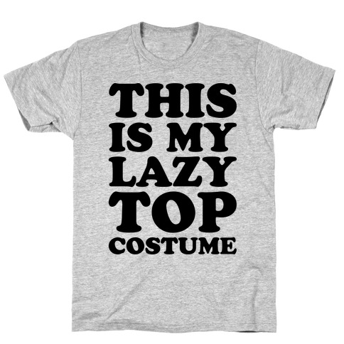 This Is My Lazy Top Costume T-Shirt