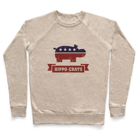 Hippo-crats Pullover