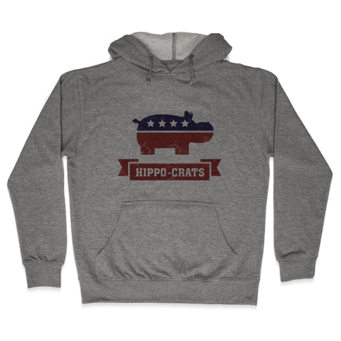 Hippo-crats Hooded Sweatshirt