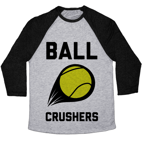 Ball Crushers Baseball Tee