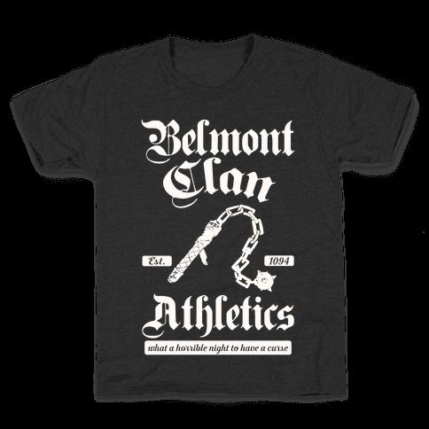 Belmont Clan Athletics Kids T-Shirt
