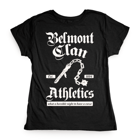 Belmont Clan Athletics Womens T-Shirt