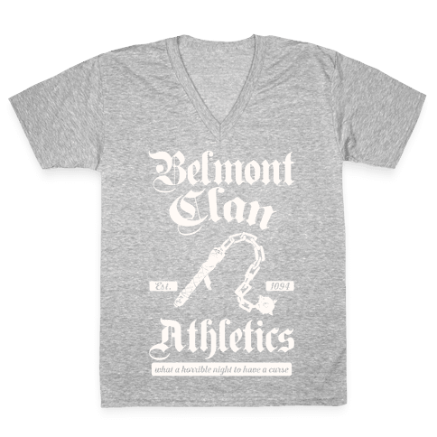 Belmont Clan Athletics V-Neck Tee Shirt