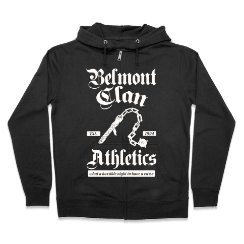 Belmont Clan Athletics Zip Hoodie