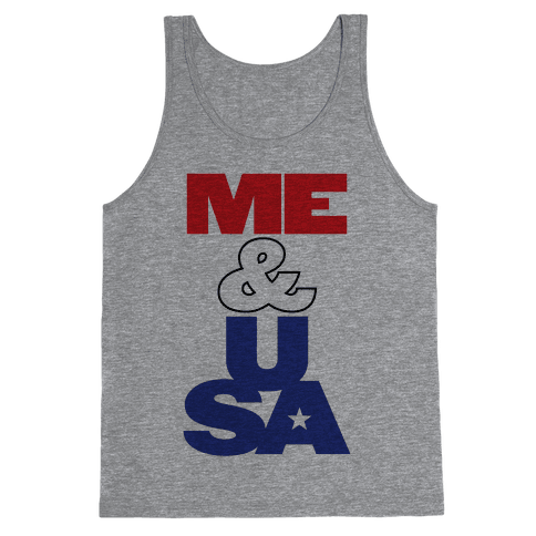 Me & USA Tank Top