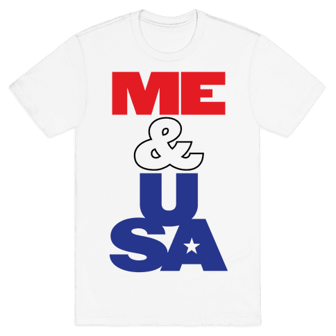 Me & USA Mens T-Shirt