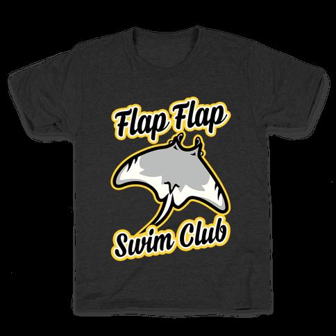 Flap Flap Swim Club Kids T-Shirt
