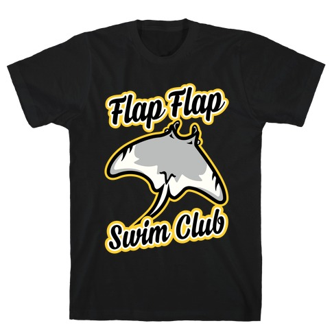 Flap Flap Swim Club Mens T-Shirt