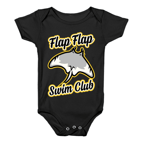 Flap Flap Swim Club Baby Onesy