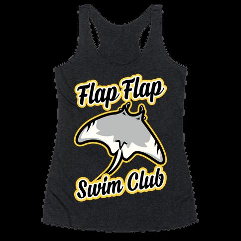 Flap Flap Swim Club Racerback Tank Top