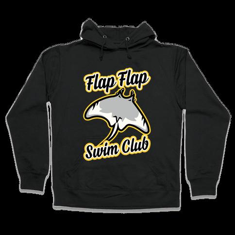 Flap Flap Swim Club Hooded Sweatshirt