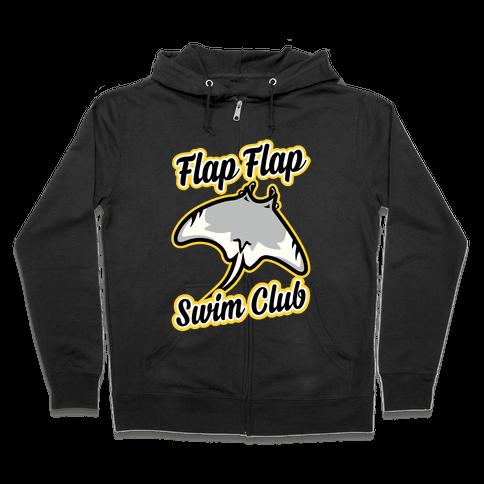 Flap Flap Swim Club Zip Hoodie