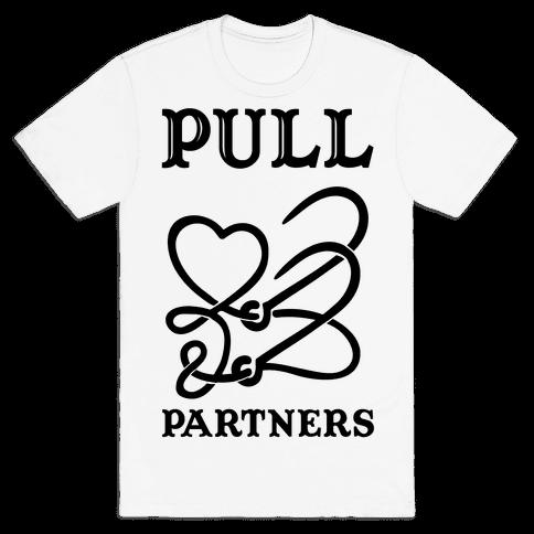 Pull Partner ( 2 ) Mens T-Shirt