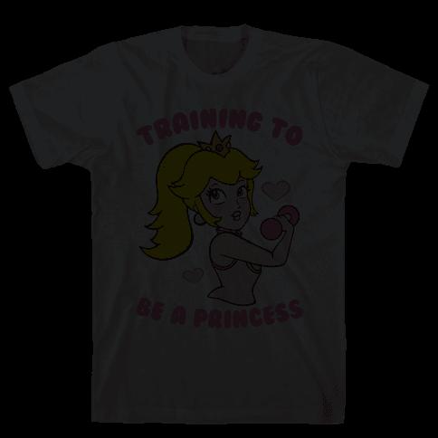 Training To Be A Princess Mens T-Shirt