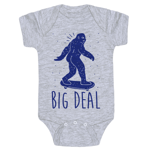 Big Deal Bigfoot Baby Onesy