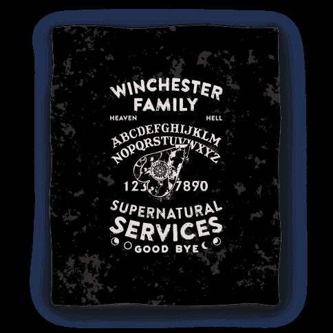 Winchester Family Ouija Board Blanket