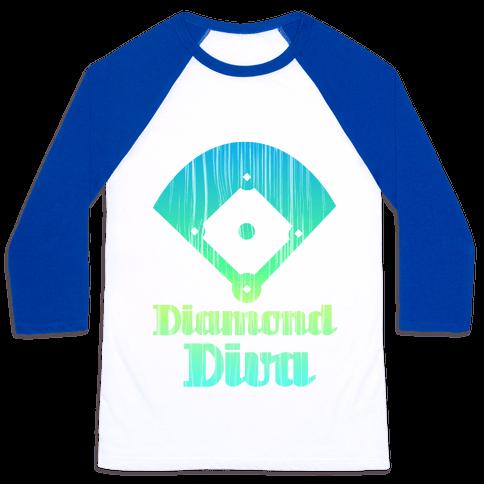 Diamond Diva Baseball Tee