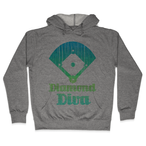 Diamond Diva Hooded Sweatshirt