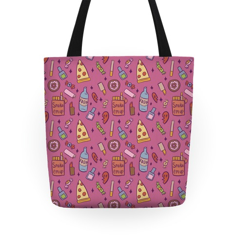 Girly Sleepover Tote
