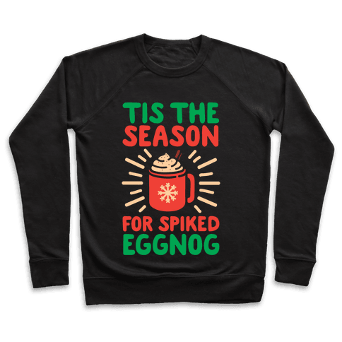Tis The Season For Spiked Eggnog Pullover