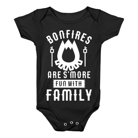 Bonfires Are S'more Fun With Family Baby Onesy