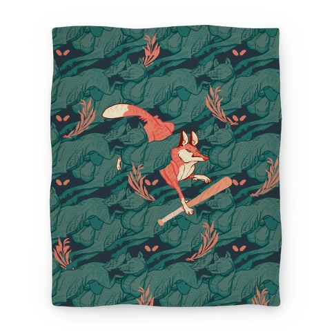 The Boy Who Runs With Wolves Blanket