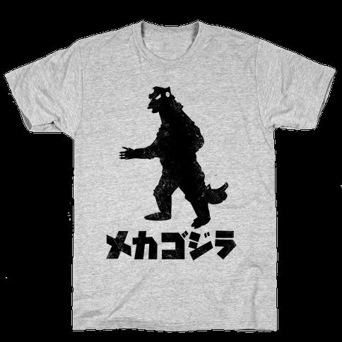 Mecha Godzilla (Vintage) Mens T-Shirt