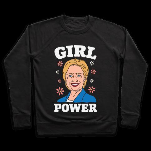 Girl Power Hillary Pullover