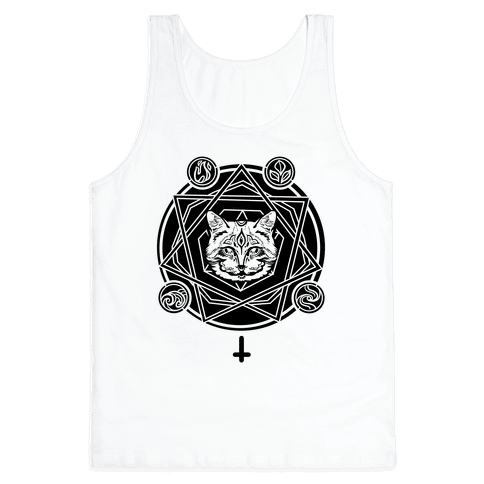 Witch's Cat: The Elements Tank Top