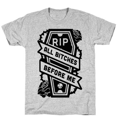 ea1b5aa4d Resting Bitch Face Funny T Shirts T-Shirts | LookHUMAN
