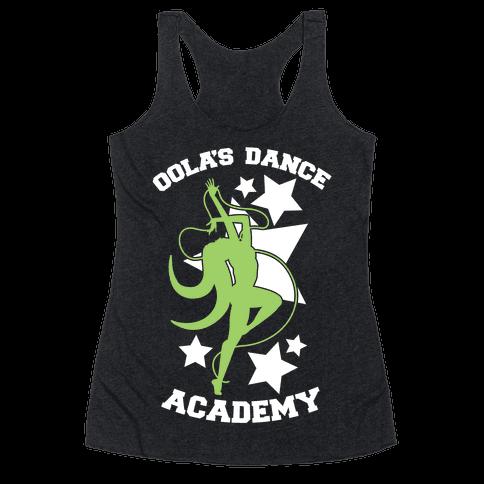Oola's Dance Academy Racerback Tank Top