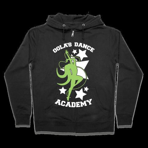 Oola's Dance Academy Zip Hoodie