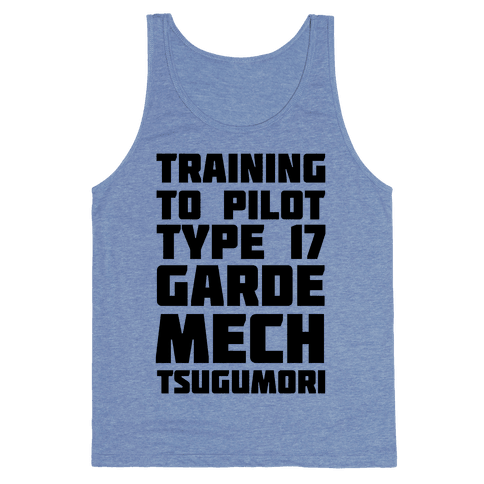 Training to Pilot Type 17 Garde Mech Tsugumori