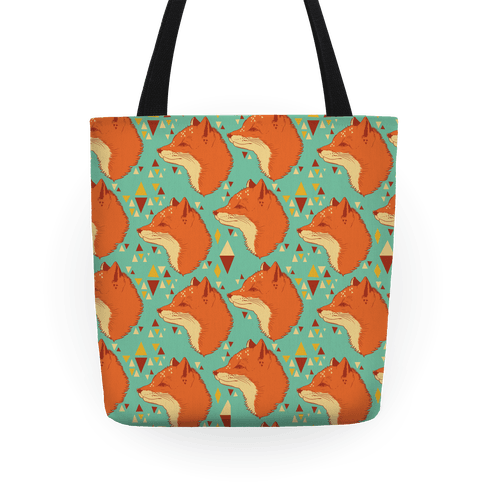 Spirit Fox Pattern Tote