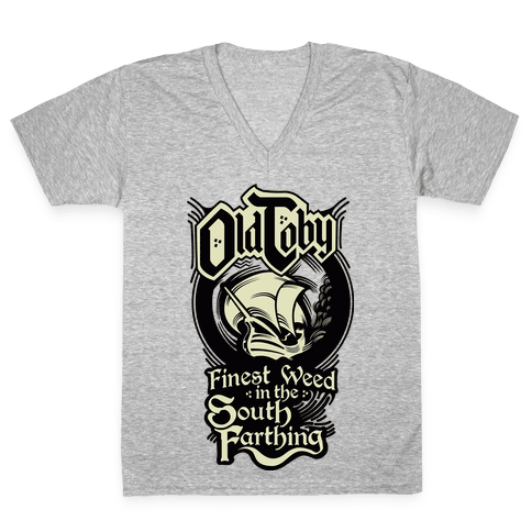 Old Toby V-Neck Tee Shirt