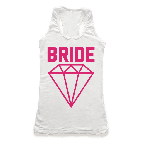 Bride (Flawless Diamond) Racerback Tank Top