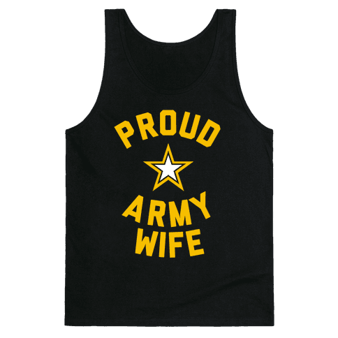 Proud Army Wife Tank Top