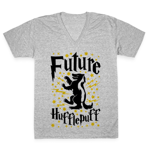 Future Hufflepuff V-Neck Tee Shirt