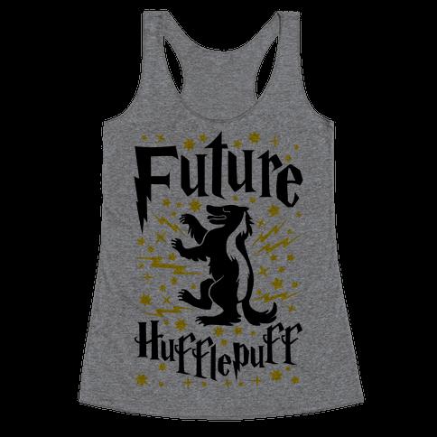 Future Hufflepuff Racerback Tank Top