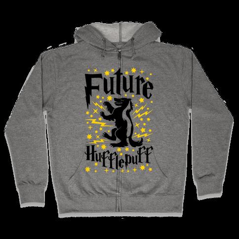 Future Hufflepuff Zip Hoodie