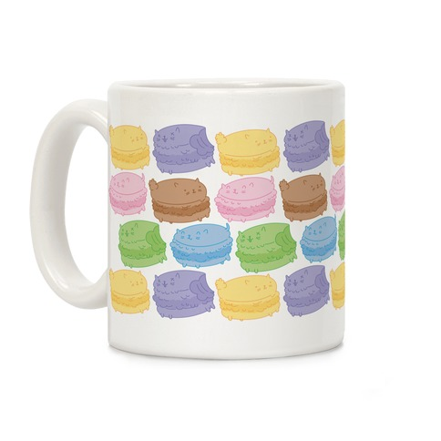 Cat Macarons Coffee Mug