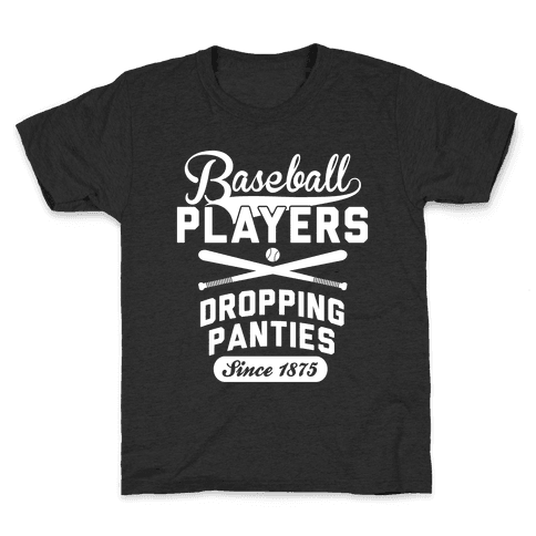 Baseball Players Kids T-Shirt