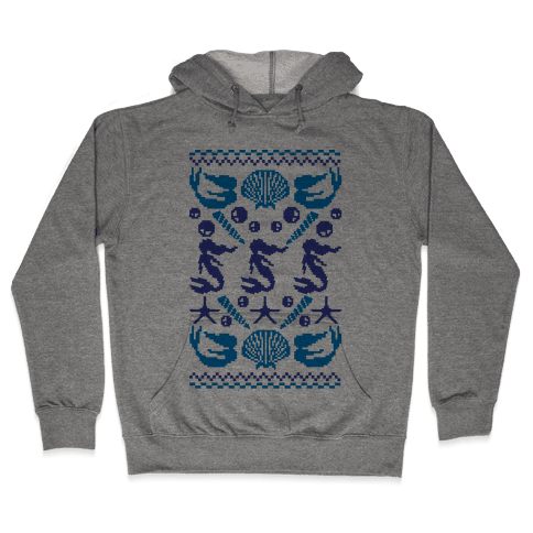 Ugly Mermaid Sweater Hooded Sweatshirt